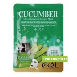 "EKEL Маска с экстрактом огурца ""Cucumber Ultra Hydrating Essence Mask"" 1 шт."