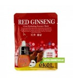EKEL RED GINSENG MASK 1 шт. Маска с красным женьшенем